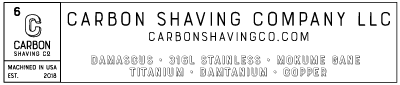 carbon shaving co. large banner